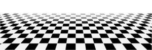 Black and White Floor